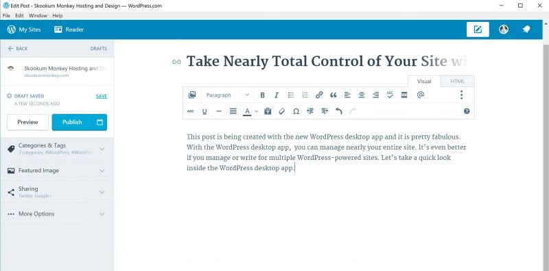 WordPress Desktop App