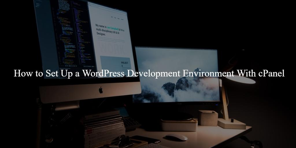 Development Environment with cPanel