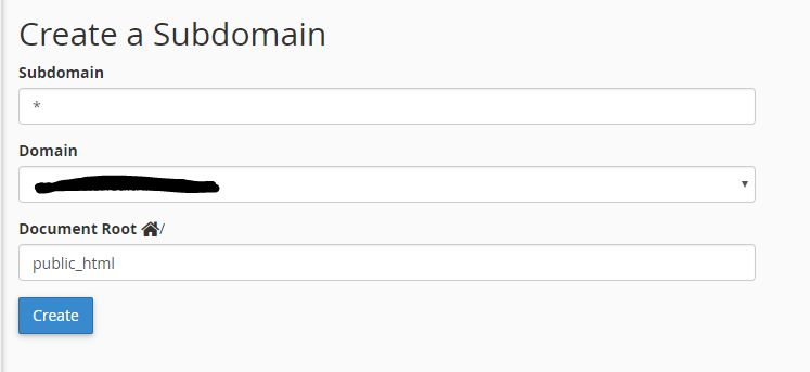 WordPress Multisite with Subdomains DNS configuration